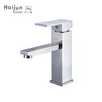 High Quality Single Handle Deck Mounted Watermark Water Basin Taps Faucet