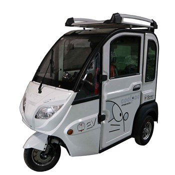 1000W High quality close body type electric passenger tricycle