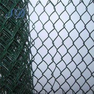Black Iron 5ft Chain Link Fence With Cheap Price