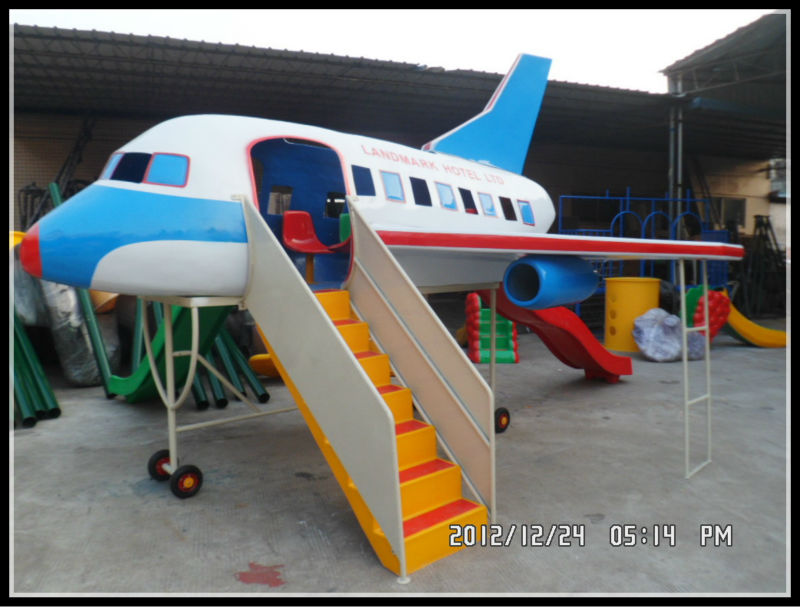 guangzhou 7 seats plane model playground amusement park equipment for kids playground aeroplane. Black Bedroom Furniture Sets. Home Design Ideas
