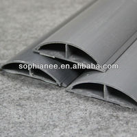 PVC Floor Protection Cable Trunking Cover