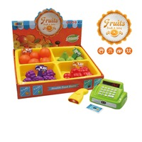 2017 amazon fruits shop cash register toy for pretend and preschool