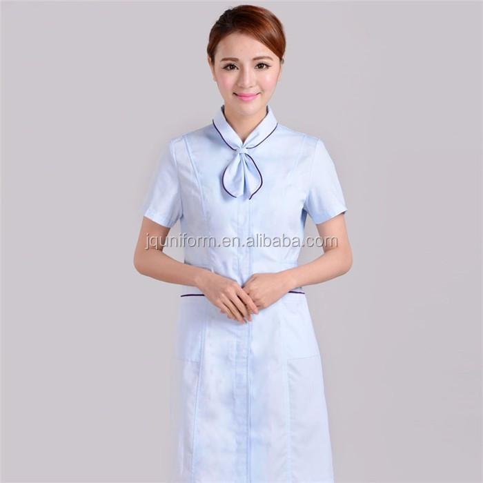 China beauty salon uniforms hair salon uniforms 100 for Spa uniform cotton