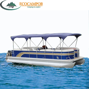 Electric Pontoon Boat For Sale, Wholesale & Suppliers - Alibaba
