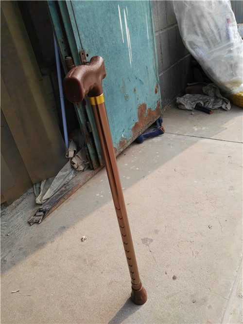 Aluminum alloy walking stick with Height adjustable Easy to use security