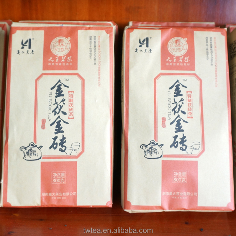 The unique Chinese tea eurotium cristatum dark tea 800g