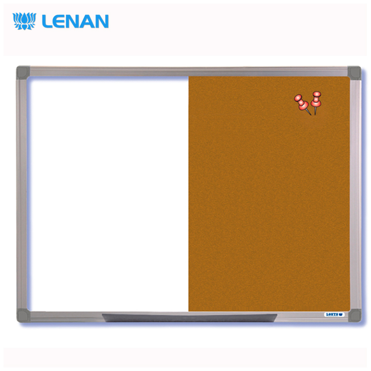 Decorative message cork board bulletin board cork memo board with frame standard sizes