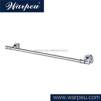 Antique Wall Mounted Towel Rail Brass Chromed Porcelain Single Towel Bar