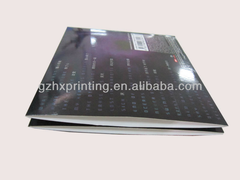 Eco-friendly cheap cd dvd plastic cover box for retail packaging