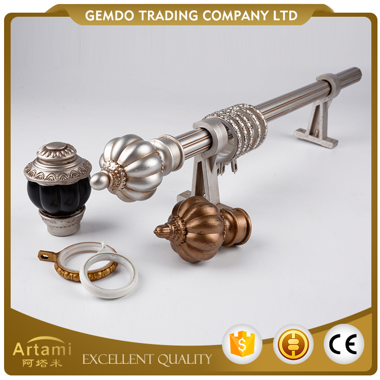 China universal factory direct supply new metal curtain rod wholesale