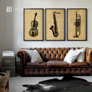 Guangzhou Art Deco Furniture Wall Hanging Gl Painting Home Decor Living Room