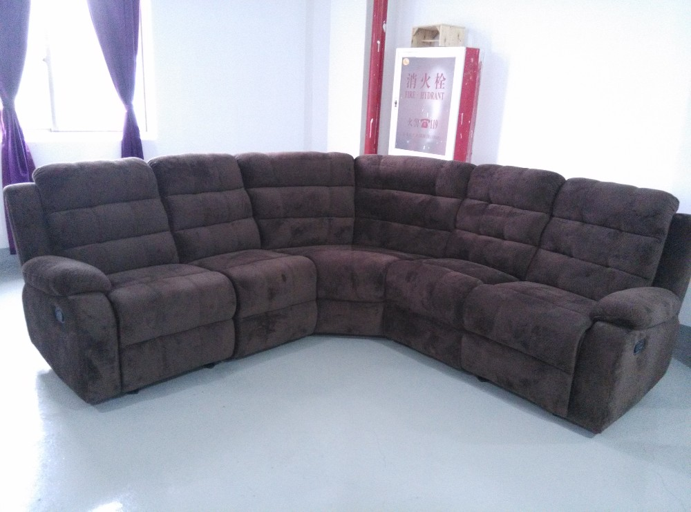 Champion Chocolate Fabric Sofa Sectional Recliner Corner Sofa - Buy Fabric  Corner Sofa,Champion Chocolater Sectional Sofa,Fabric Corner Sofa With ...