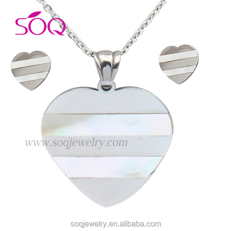 Large customized meaning eternal love couple simple silver chain jewelry set