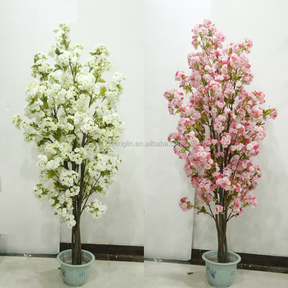 130cm 15 branches wholesales artificial flowering tree china 130cm 15 branches wholesales artificial flowering tree china artificial silk azalea tree for home wedding decoration dhlflorist Gallery