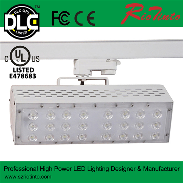 High Quality Professional Patented Design  50w 60w 70w High Brightness  Led Track Lighting