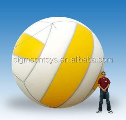 giant outdoor advertising inflatable volleyball for sports event festival