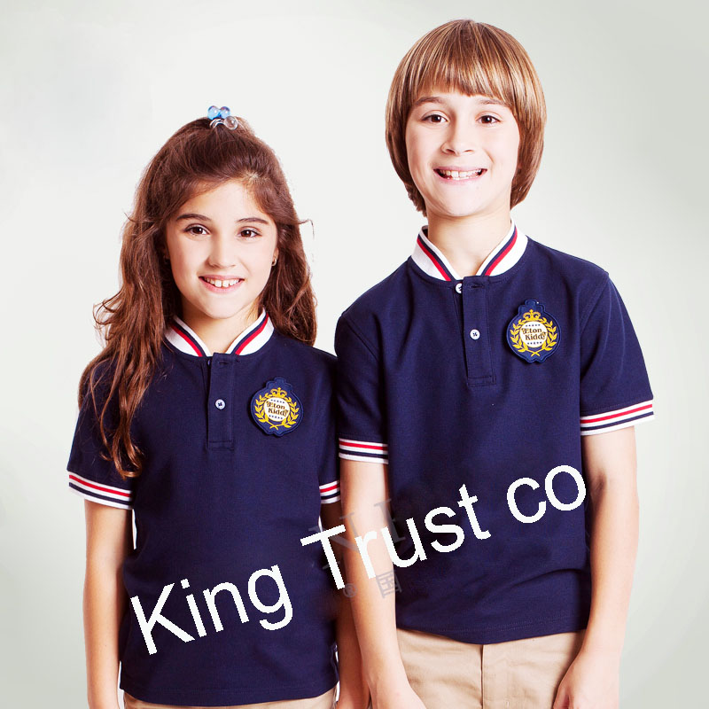 6a2bf554 International polo shirt school uniform, factory custom primary school  uniform, wholesale cheap kids school