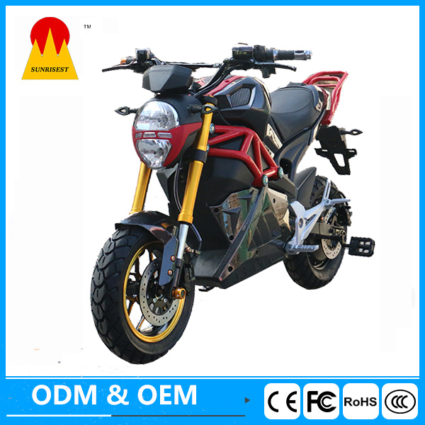 2000w electric scooter Lead acid battery electric motorcycle made in China factory