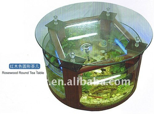Table Basse Aquarium - Buy Table Basse De Poisson Aquarium,Aquarium ...