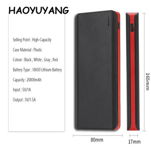 High Quality 4USB Power Bank 20000mah Portable Fast Charger Power Bank For iPhone