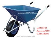 Durable Poly Garden Wheelbarrow for UK Market WB6414