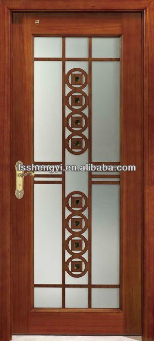 Fancy Interior Glass Wood Door   Buy Wood Glass Door Design,Beveled Glass Interior  Doors,Wood Framed Glass Doors Product On Alibaba.com