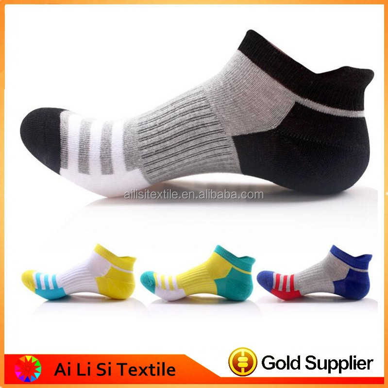 High Quality Towel Boys Boat Socks New Fashion Boys Sport Socks Men Athletic Boat Socks