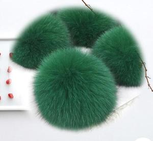 Fashionable fox Fur for Mobile Phone / fox fur tail for car keys chain / Fashion Fox Fur Ornaments