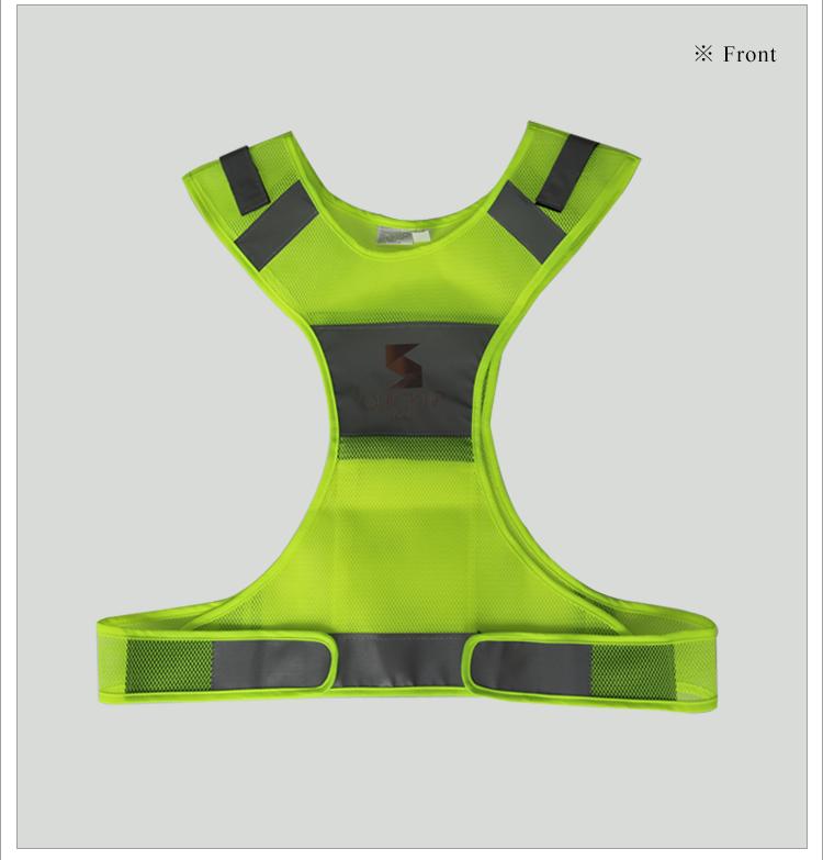 custom made safety reflective running vest buy safety reflective running vest safety. Black Bedroom Furniture Sets. Home Design Ideas