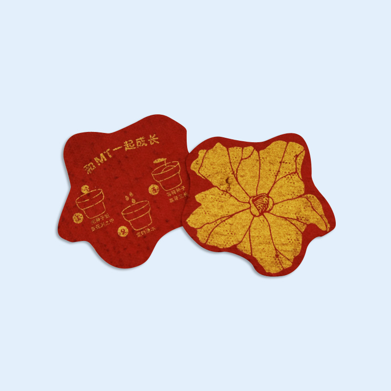 Professional supplier beautiful decorative cards made of plantable sunflower seed paper