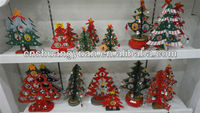 30cm wooden Christmas table tree