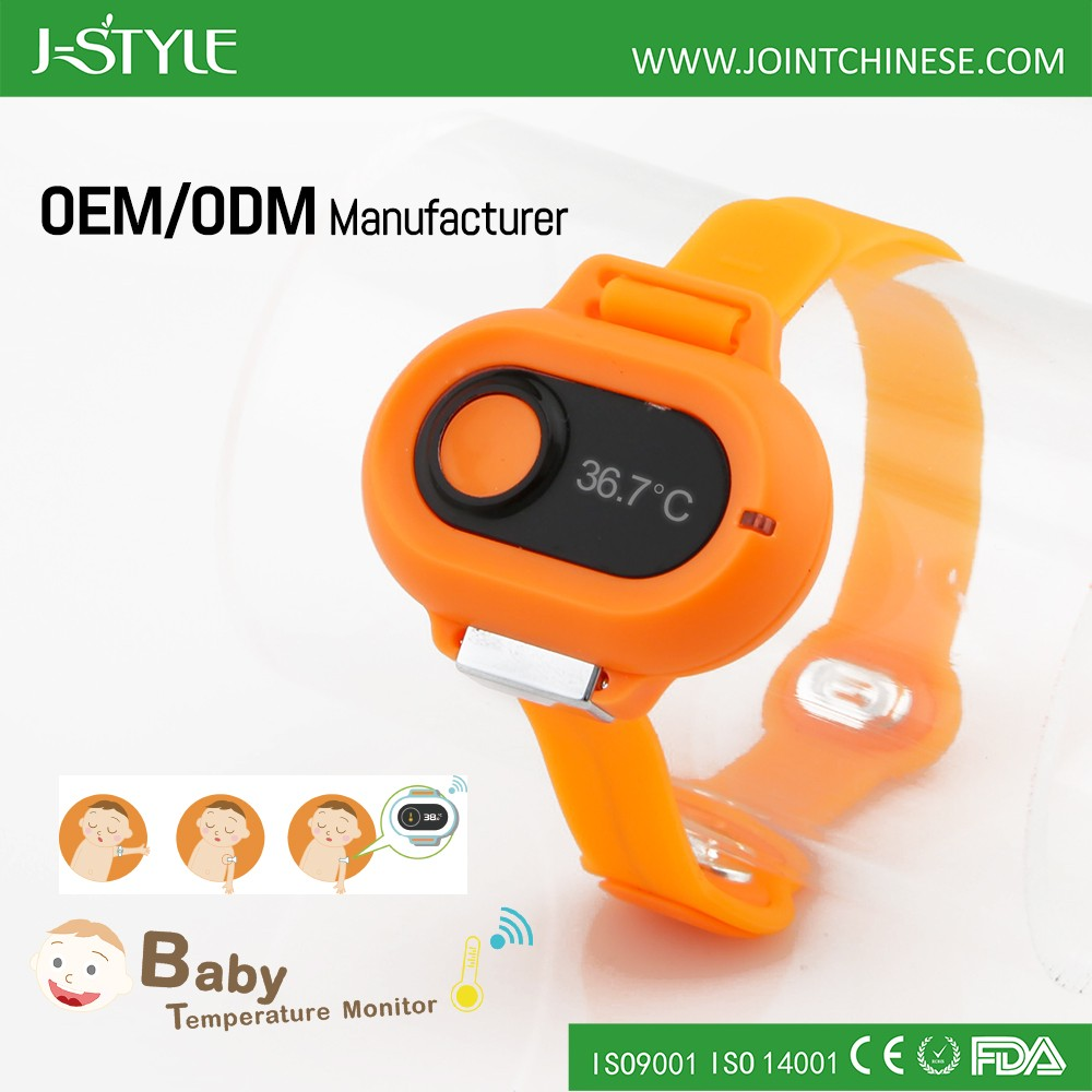 J-style smart thermometer&wireless baby thermometer and smart sensor thermometer