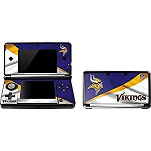 NFL Minnesota Vikings 3DS Skin - Minnesota Vikings Vinyl Decal Skin For Your 3DS