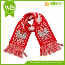 Best Prices trendy style acrylic football fan scarf from China