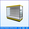 Upright Air Curtain Refrigerator Supermarket Display Cabinet for Drink/Vegetables/Fruit/Meat