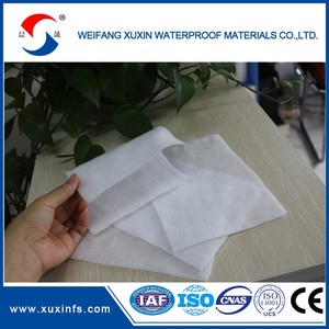 Nonwoven geotextile polyester spunbond nonwoven fabric