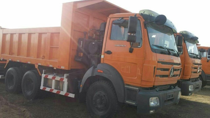 Brand New BEIBEN 375HP High quality 6x4 Dump Truck Spare Parts
