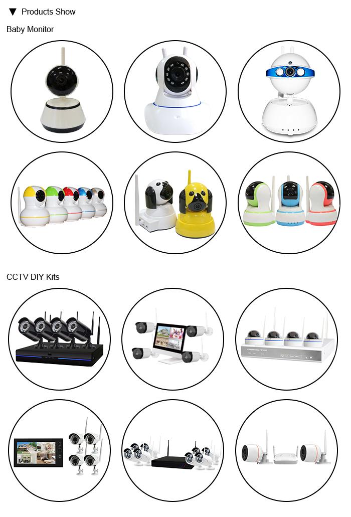 1080P Casa Com Fio DVR Standalone Video Surveillance Dome Câmeras IP 8 AHD CCTV camera DVR kit Completo