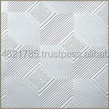 Gypsum Tiles Design No. 567