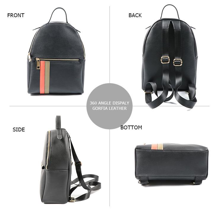 2019 Factory direct price Vintage leather designer school student backpack