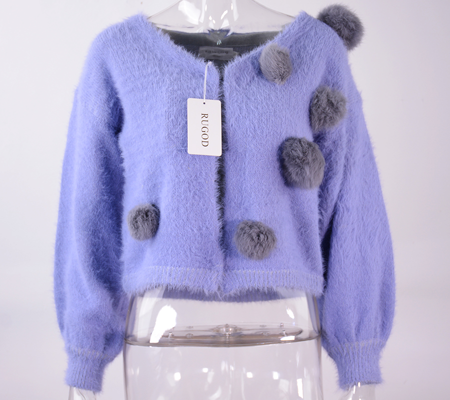 c3257ac1d4 2019 Wholesale Furry Christmas Sweater Women 2016 Cardigans And ...