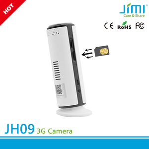worldwide 3g gsm/wcdma band wireless HD security camera with sim slot