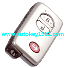 Remote Smart Key Shell Uncut fit for TOYOTA 4Runner Venza Land Cruiser Case 3Button(Fits: Toyota)