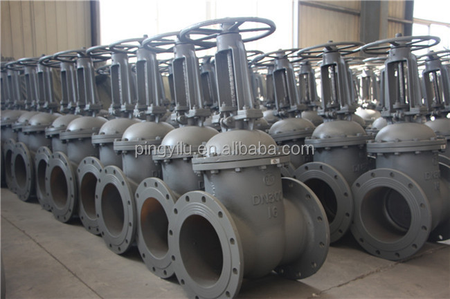 "5"" inch flanged carbon steel pn16 gate valve manufacturers"