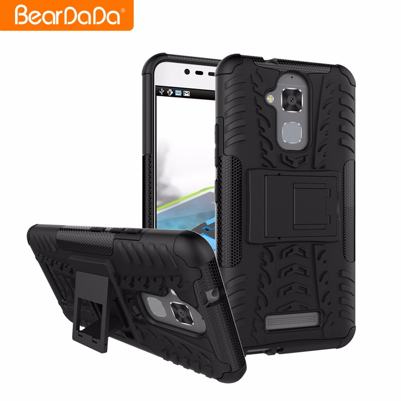 Wholesale new design kickstand for asus zenfone max phone case