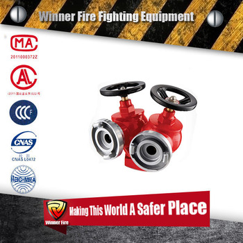Over ground type 2-way multifunction indoor fire hydrant