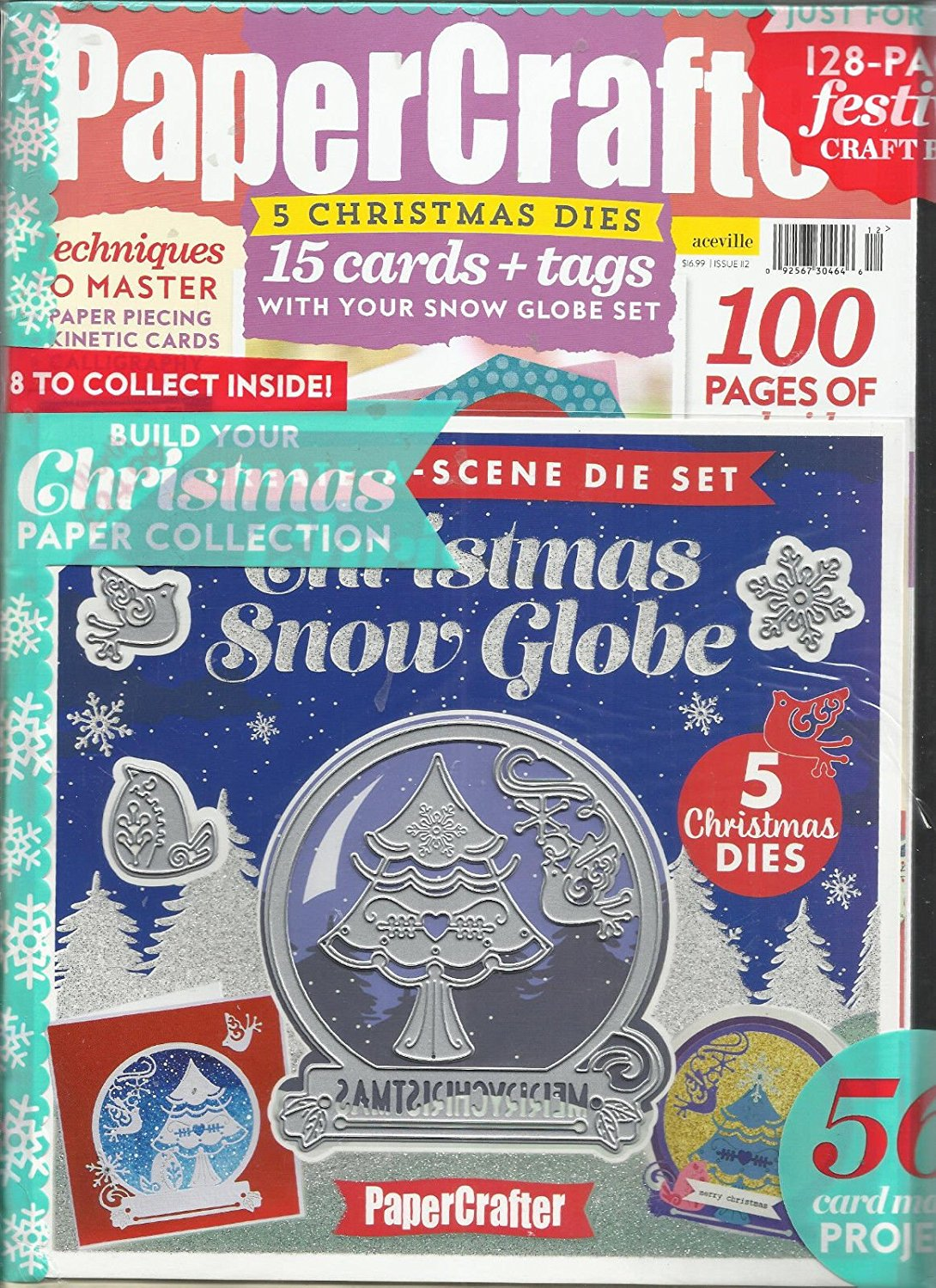 PAPER CRAFTER, ISSUE, 2017 ISSUE,112 FREE GIFTS OR CARD KIT ARE INCLUDED.