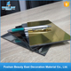Factory price mirror finished alucobond panel price aluminum composite panel