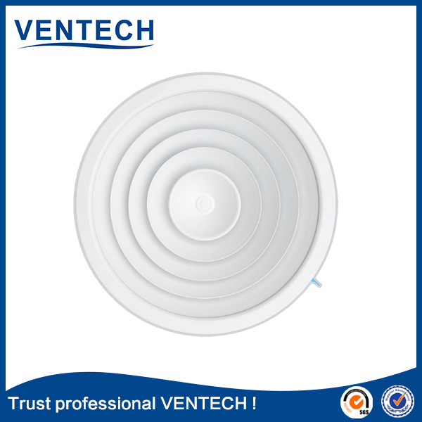 VENTECH hot sell aluminum supply air ventilator diffuser for air ventilation used