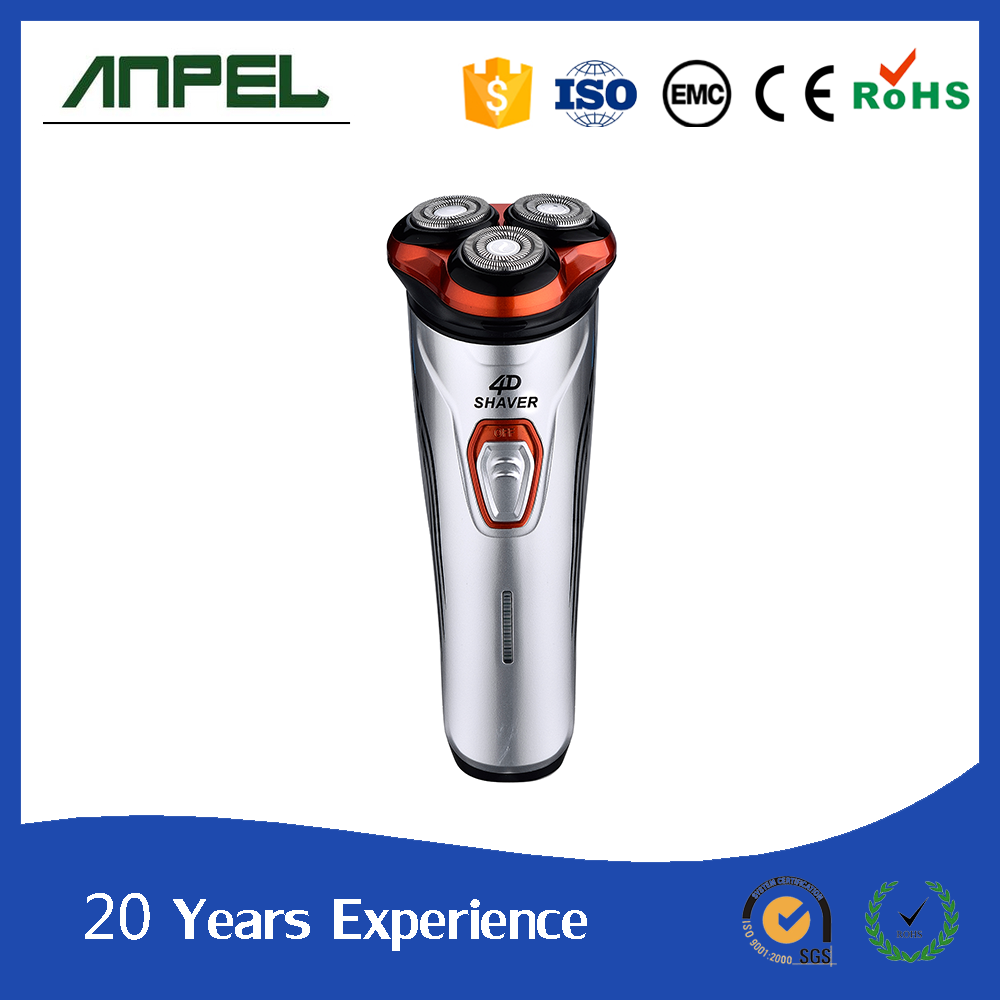 3-Head Rechargeable Electric Men's Shaver